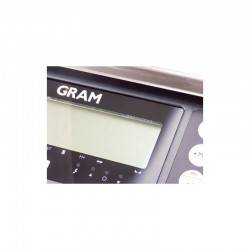 Display LCD de balança industrial