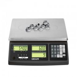 Balança de contagem de peças Modelo RK15 Gram