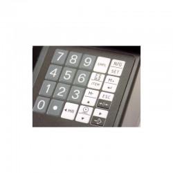 Balança contagem de peças do teclado do menu