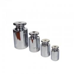 Pesos cromados com certificado ENAC para calibração de balanças