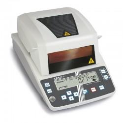 Determinador de umidade Kern DBS com sistema de pesagem Single-Cell